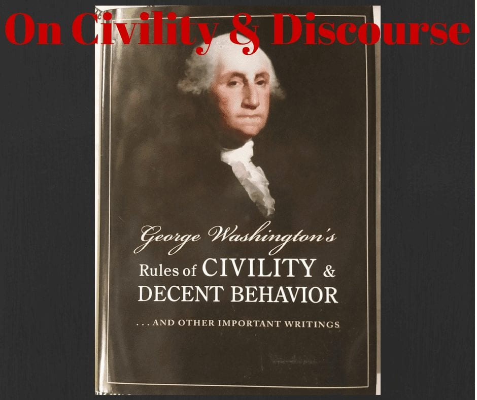 On Civility and Discourse